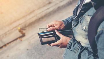lompakko rahat