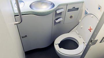lentokone vessa