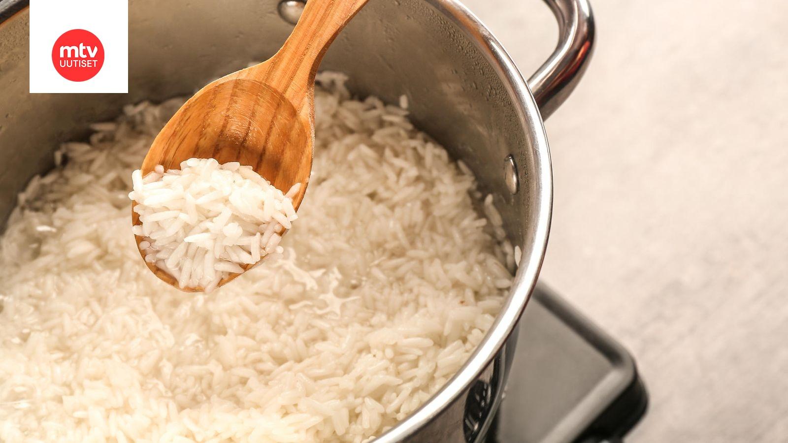 Riisin Huuhtelu
