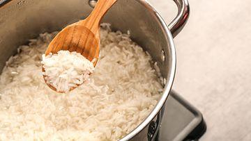 riisi keittäminen
