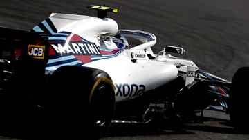 Williams auto Hockenheim