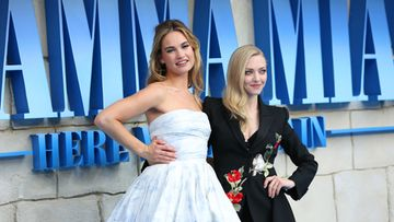 lily james amanda seyfried