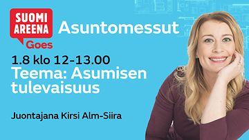SuomiAreena Goes Asuntomessut 1.8.