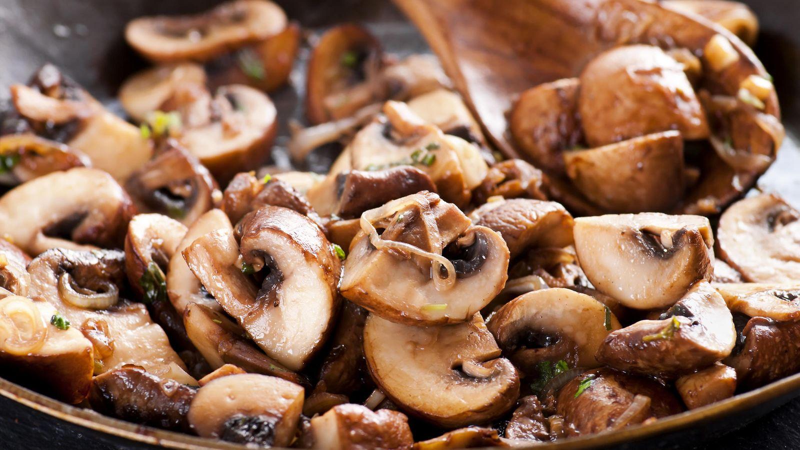 Sienien Paistaminen