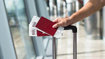 passi lentolippu
