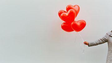 rakkaus ilmapallot