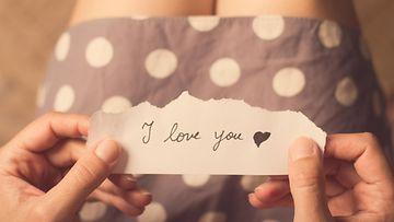 rakkaus, viesti, tyttö