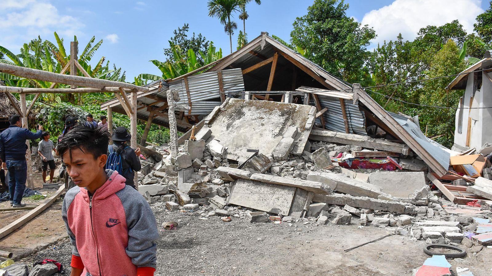 Indonesia Maanjäristys