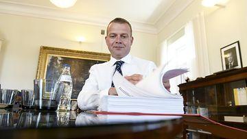 Petteri Orpo budjettineuvottelut