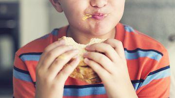 poika, ruoka, leipä