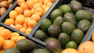 avokado hedelmä ruokakauppa