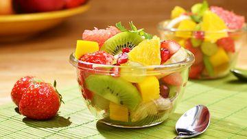hedelmäsalaatti hedelmät