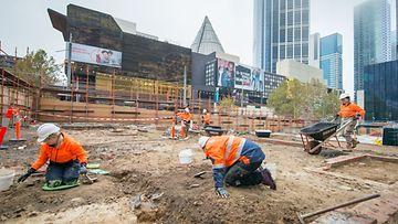 Melbourne metron kaivaukset