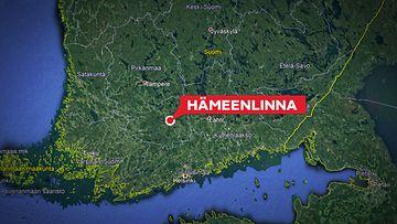 hämeenlinna kartta