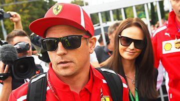 Kimi ja Minttu Räikkönen