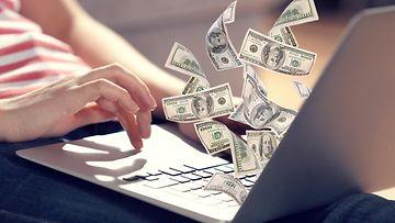 raha, tietokone