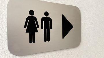 Unisex wc pukuhuone