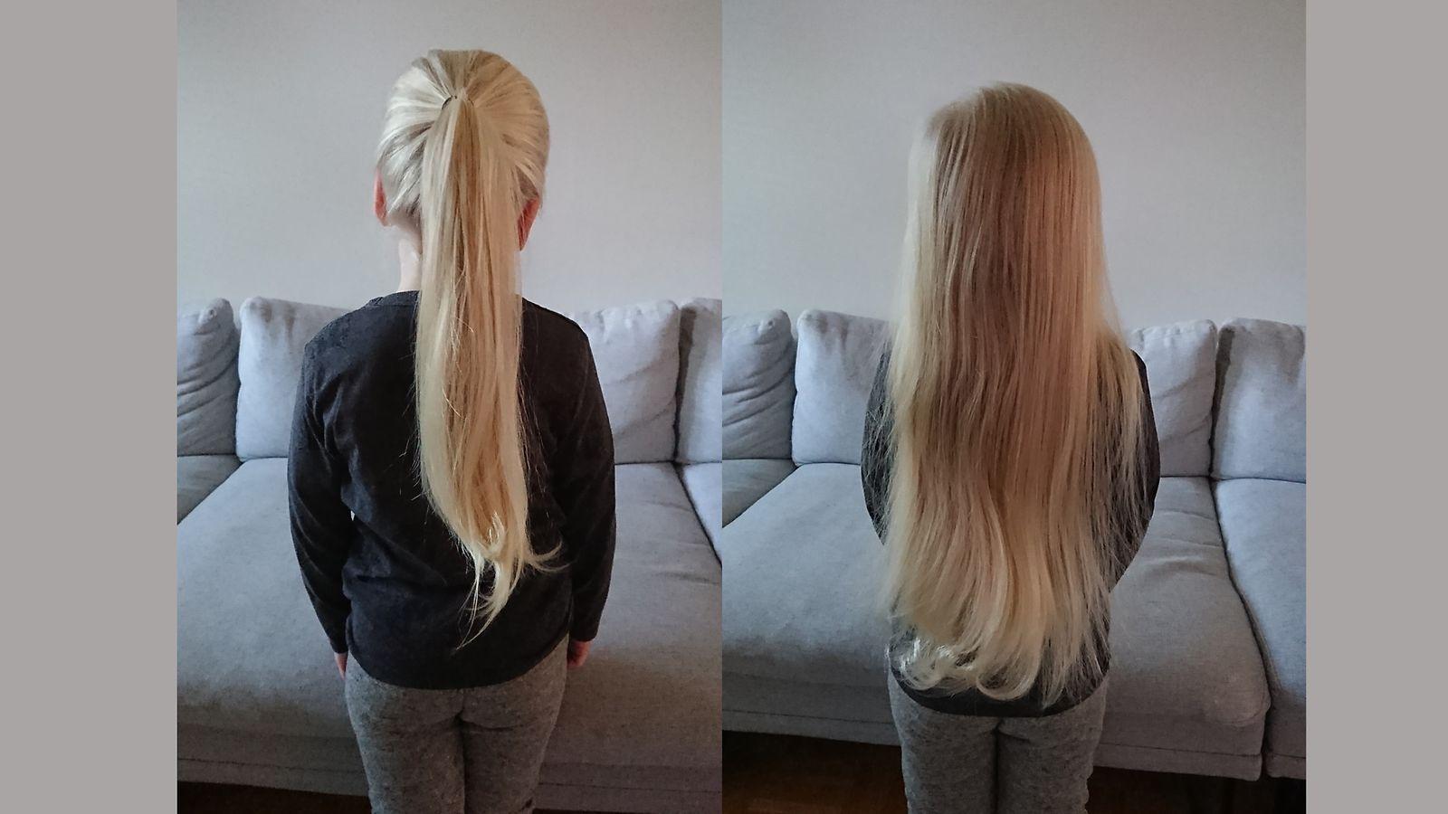 3-vuotiaan Ilmarin hiukset ulottuvat jo takapuoleen asti – ponnarista on tullut pojalle tärkeä ...