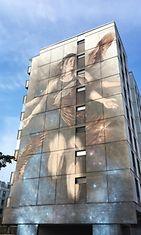 Kaupalliset muraali Ilmatar Pasila Helsinki Urban Art
