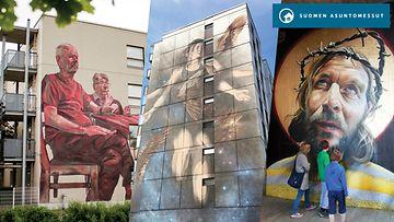 Asuntomessut Muraalit kollaasi