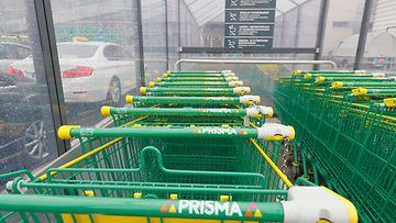 Prisma S-ryhmä ostoskärryt