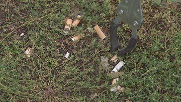 roska roskien kerääminen roskaus tupakka tupakantumppi
