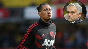 Chris Smalling José Mourinho