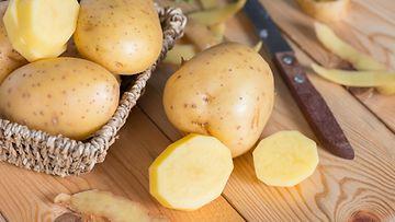 peruna leikkuulauta kuoriminen