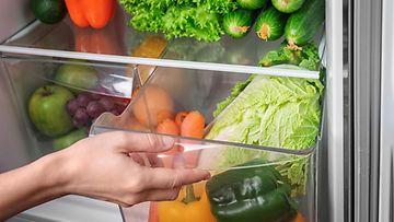 jääkaappi vihannekset hedelmät