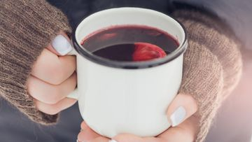 glögi kuuma viini muki