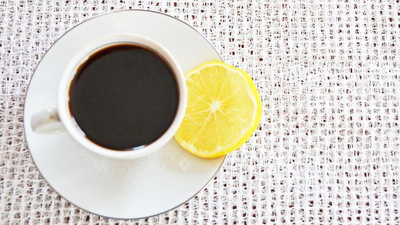 sitruuna kahvi