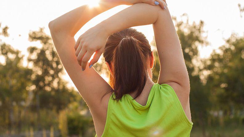 liikunta, urheilu, nainen