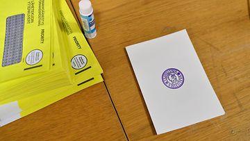AOP, äänestys, vaali, vaalit, lipuke