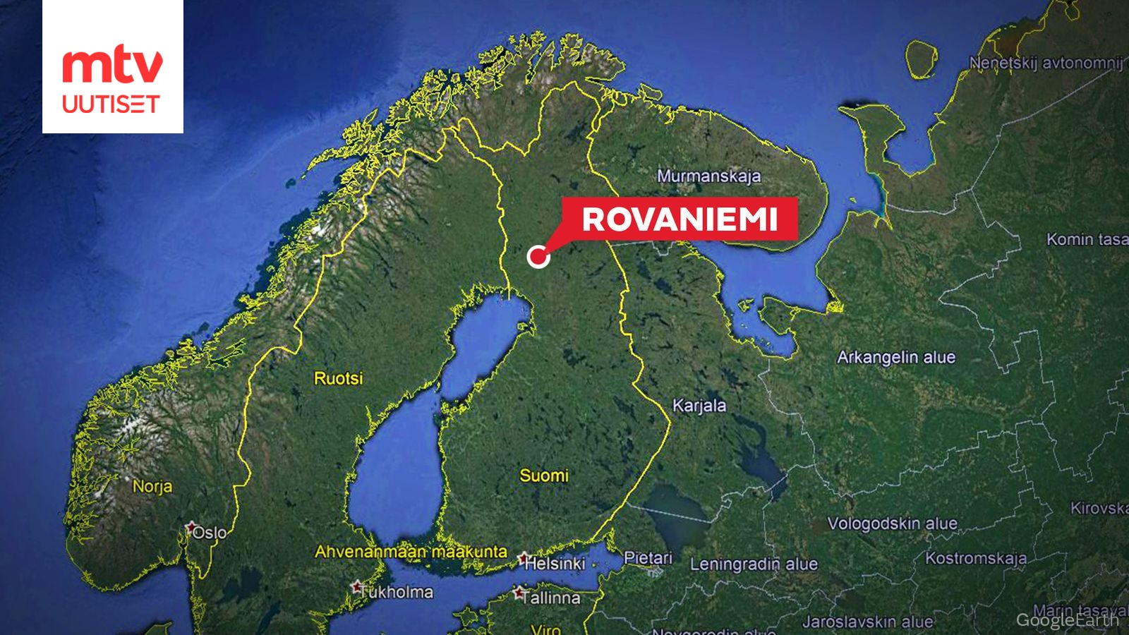 Ilmaliikenneonnettomuuden Vaara Rovaniemen Lentokentalla