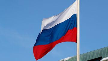 Venäjä Venäjän lippu kuvitus AOP