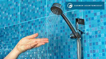 Asuntomessut suihku