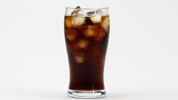 coca-cola, lasi