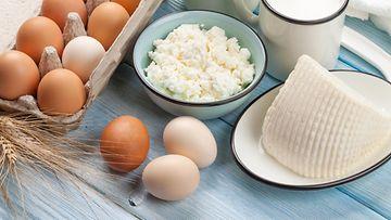 kananmuna juusto
