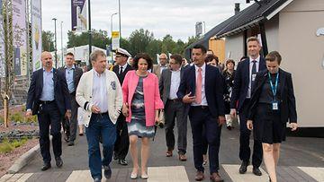 Niinistö Haukio asuntomessut, kaupallinen yhteistyö