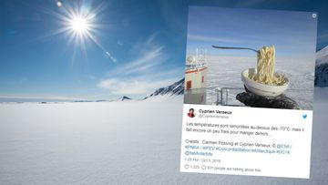 Antarktis ruoanlaitto