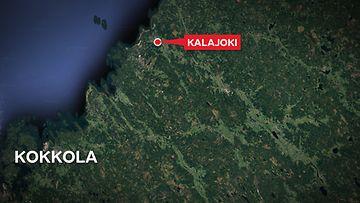 Kalajoki-kartta
