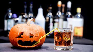 drinkki halloween kurpitsa