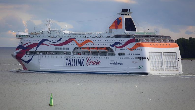 AOP Baltic Queen Tallink Silja laiva