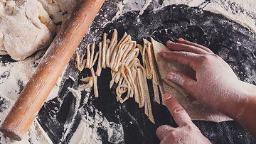 pasta itse tehty