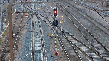 vr juna junaliikenne raide