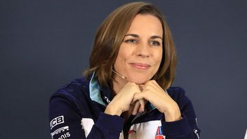 Claire williams tekohymy
