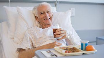 mies, sairaala