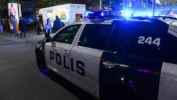 AOP, poliisi, poliisiauto, Helsinki, kuvitus