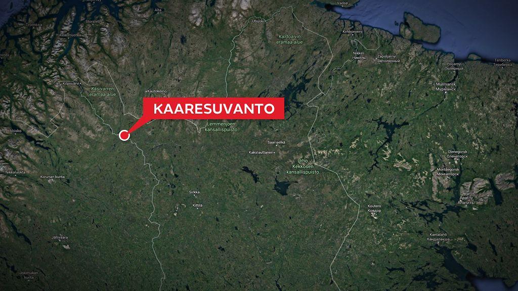 Liikenneturma Kasivarren Lapissa Norjan Ja Ruotsin Kansalaisia