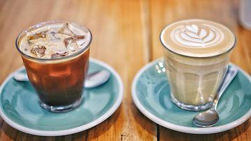 kahvi kylmä kahvi cappuccino